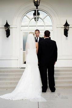 Wedding ceremony on our veranda