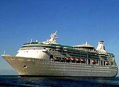 Vision of the Seas, going to be our home for a couple of weeks, October 2015!!