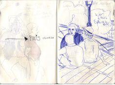 sketchbook Luzie Bayreuther