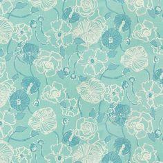 Lee Jofa I Dahlia-Skye Blue by Lilly Pulitzer 2011107-15  Decor Fabric