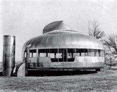Dymaxion House - Buckminster Fuller, 1946 Innovative, original design still original now!
