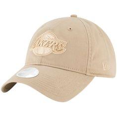 Los Angeles Lakers New Era Women s Core Classic 9TWENTY Adjustable Hat – Tan 75a0533873