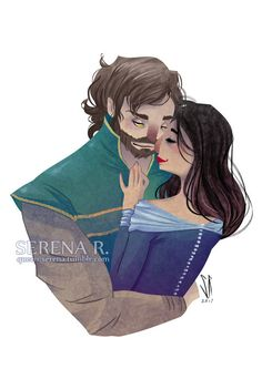 Perrin Aybara & Faile Bashere from Robert Jordan's Wheel of Time (WoT) by Serena Rocca
