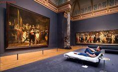Una noche en el museo, de Ámsterdam