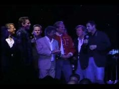 Olivia Newton-John & John Travolta (and the rest of the Grease cast) singing SUMMER NIGHTS - Grease DVD release party
