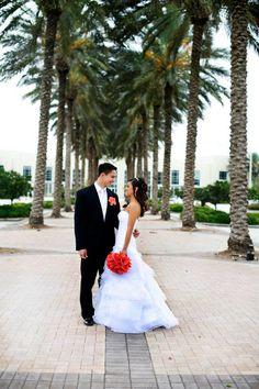 Beautiful scenery #wedding #coral #marriage