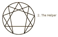 Enneagram type 2 - The Helper with balanced wings - The outgoing introvert.
