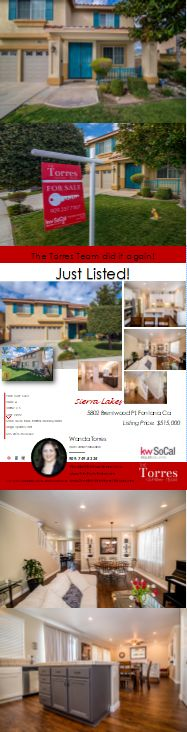 Location, Location, Location! Gorgeous Turn Key home in the highly desired neighborhood of Sierra Lakes with No HOA's. This 4 bedroom, 3 bath home has brand new interior and exterior paint, crown molding, large baseboards and lovely new flooring.