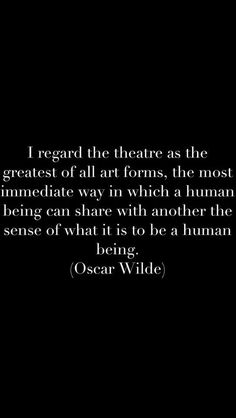 Theatre geeks agree