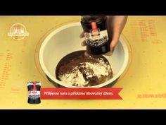 Rumové guľky - recept na guličky plnené rumom - VIDEO Ako sa to robí.sk