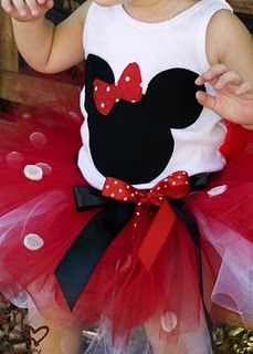 Minnie Tutu! Hot pink instead of the red