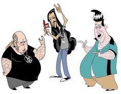 Animation Character Design Portfolio : Western folks u justin rodrigues character