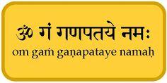 ganesha mantras - Buscar con Google