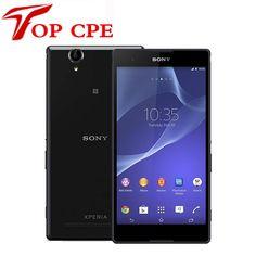 "Original Sony Xperia T2 Ultra XM50h Dual Sim Mobile Phone 6"" Quad Core 13.0MP GPS NFC 3G Cell Phones Refurbished"