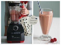 Recipe for berry licorice smoothie.  Follow me on Instagram @passionforbaking  #smoothie #licorice #baking