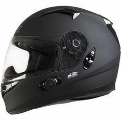 ONeal Racing Commander Bluetooth Helmet - Flat Black