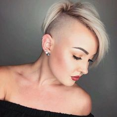 273 Best Short Back And Sides Madam Images In 2018 Shaved Hair