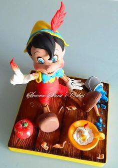 Pinocchio - Cake by Serena Siani