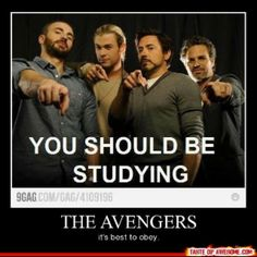 Pffftt! I only listen to Loki!  Loki: Did someone say my name? Me: *fangirling* Loki: Study or I won't kiss you for two hours. Me: *studying nervously*