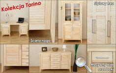 Kolekcja Torino - meble drewniane. Producent Made of Wood Group.