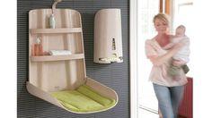 Les meubles pratiques et malins de la chambre de bébé // http://www.deco.fr/deco-piece/decoration-chambre-bebe/actualite-486862-meubles-pratiques-malins-chambre-bebe.html