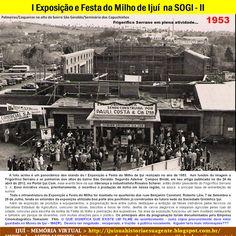 IJUÍ - RS - Memória Virtual: Desfile de abertura da I Exposição e Festa do Milh...