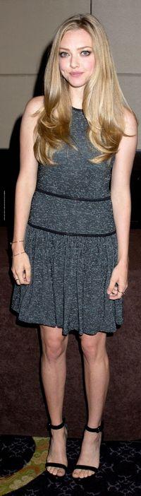 Amanda Seyfried: Dress – Tibi  Shoes – Givenchy