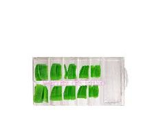 Verniz de Luxo - Caixa Tips Verde 100 unids