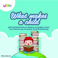 What makes a child gifted and talented may not always be good grades in school, but a different way of looking at the world and learning. https://cstu.io/6acd20