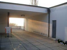Ludwig Mies Van Der Rohe, Villa Tugendhat, Entrance, Garage Doors, Outdoor Decor, Home Decor, Villas, Door Entry, Homes
