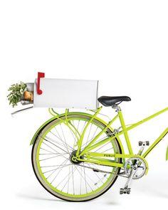 Mailbox Bike Basket