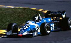 F1 Paper Model - 1983 Belgian GP Ligier JS21 Paper Car Free Template Download