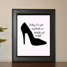 Watch out for this chick, with so much sass others better fear you! Shop now on Etsy (link in bio) Shop Now, Girly, Printable, How To Plan, Watch, Link, Quotes, Instagram Posts, Etsy