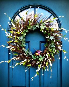 Color Greek Blue front door...Chalk Paint® by Annie Sloan