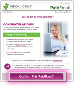 How can InboxDollars® help me earn cash or rewards for my online activities? Advertisers pay InboxDollars® to reach consumers like you. Through programs ranging from paid online surveys to PaidEmail®, InboxDollars® shares the revenue we receive from advertisers with our Members. Your time and participation are valuable, so join now to be rewarded! http://www.inboxdollars.com/?r=ref12763657