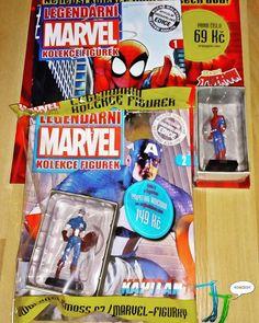 Figúrky Spider-mana a Kapitána Ameriku z MARVEL kolekcie figuriek opäť skladom!!! JJkomiks https://www.jjkomiks.sk/kategoria/marvel-kolekcia-figuriek #spiderman #kapitanamerika #marvel #kolekciafiguriek #komiks #komix #akcia #figúrky #zberatelskefigurky #zberatelia #dnescitam #tipnakomiks #jjkomiks