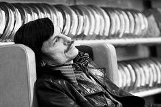 Russian iconic filmmaker Andrei Tarkovsky.