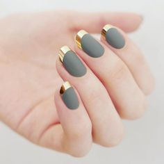 Fall Nail Art Ideas - Best Nail Designs In 2017 - styles4woman