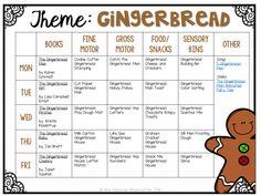 Tot School: Gingerbread - Mrs. Plemons' Kindergarten