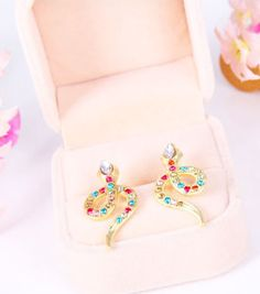 Yasurs™ 2014 New Fashion New Arrival Fashion Personality Inlay Rhinestone Snake Earring. The wholesale price is. http://www.yasurs.com/yasurstm-2014-new-fashion-new-arrival-fashion-personality-inlay-rhinestone-snake-earring.html #jewelry