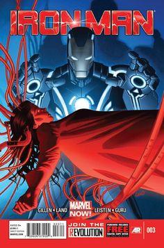 Iron Man #3 - Comic Book Cover