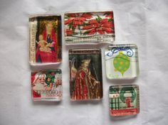 Hey, I found this really awesome Etsy listing at https://www.etsy.com/listing/253362278/6-vintage-christmas-us-postage-stamp