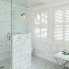 Large Marble Subway Tiles