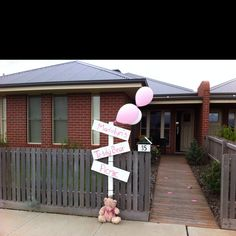 Teddy bear picnic sign for our front