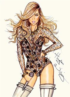 Beyonce by Hayden Williams