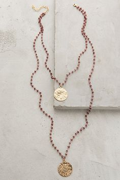 Oloron Layered Necklace #anthrofave #anthropologie.com