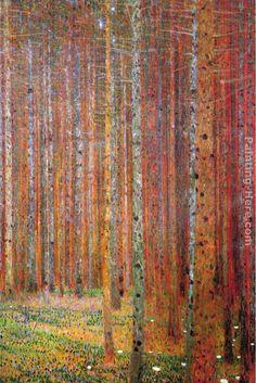 Tannenwald - Gustav Klimt