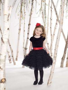4 Black Little Girl Dresses in Fashion