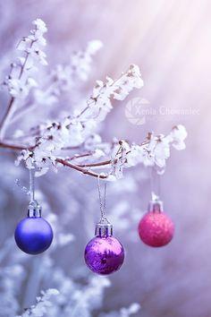 Three Christmas Balls by Xenia Chowaniec on 500px