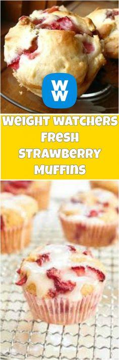 Fresh Strawberry Muffins – Easy Recipe | weight watchers recipes | Page 2 #weightwatcherrecipes